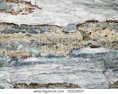 Makro Textur Stein verfärbt