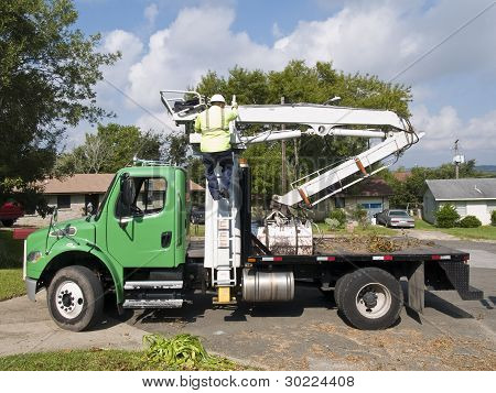 Brush Collection Truck