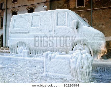 Frozen van
