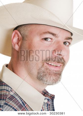Men - Cowboy Headshot