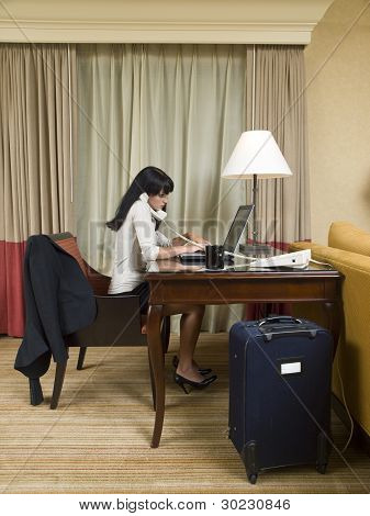 Business Trip - Working Late