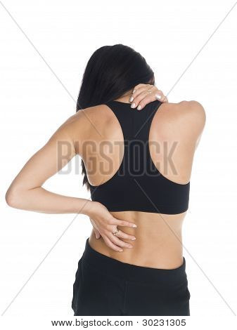 Woman - Neck And Back Pain