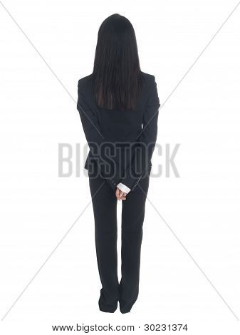 Businesswoman - Backside