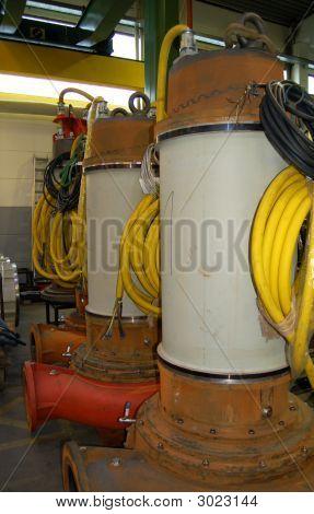 Big Sewerage Pumps