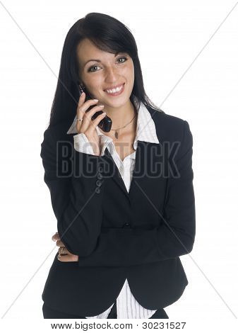 Businesswoman - Funny Phone Call