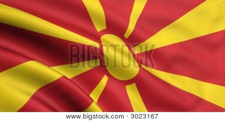 Flag Of Mecedonia