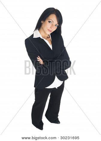 Businessswoman - Looking Up
