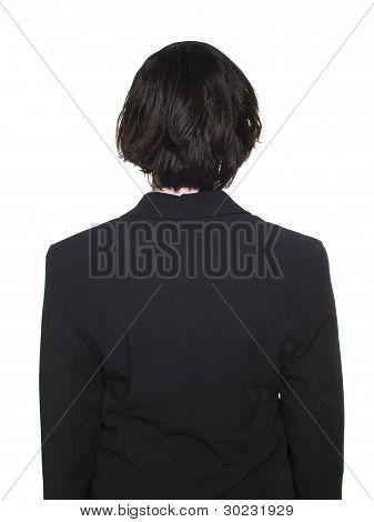 Businesswoman - Back Side