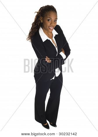 Businesswoman - High Angle Smile