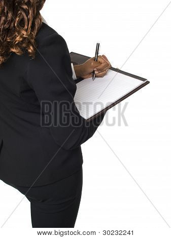 Businesswoman - Writing