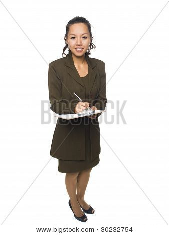 Businesswoman - Questionaire