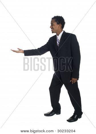 Empresário - dança de lado