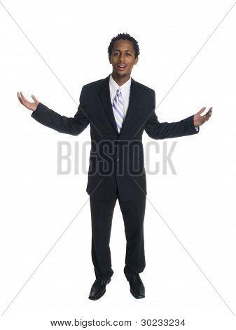 Businessman - Disbelief