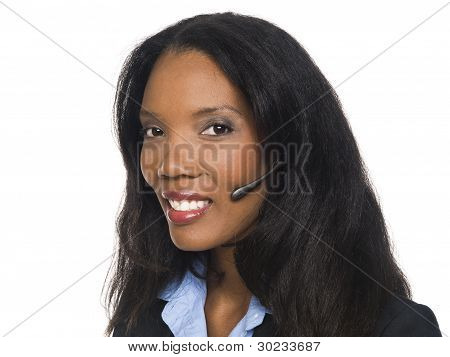 Businesswoman - Telephone Operator