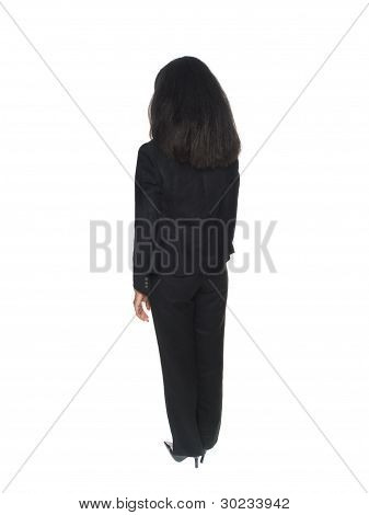 Businesswoman - Rear View