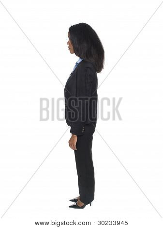 Businesswoman - Side View