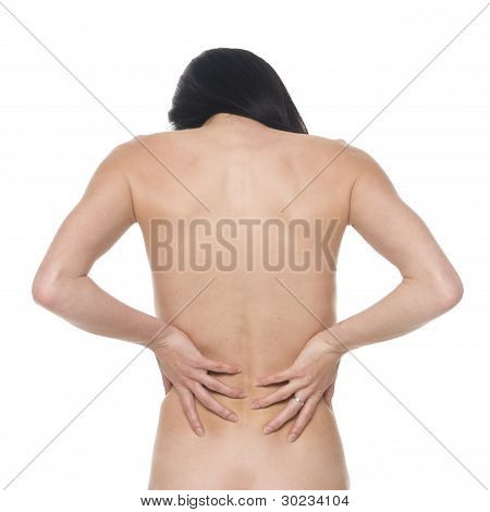 Woman - Lower Back Pain