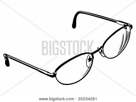 Vector Eye Glasses Number Four