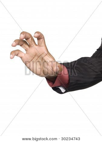 Businessman - Claw Hand