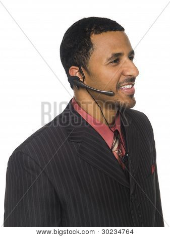 Businessman - Telephone Operator