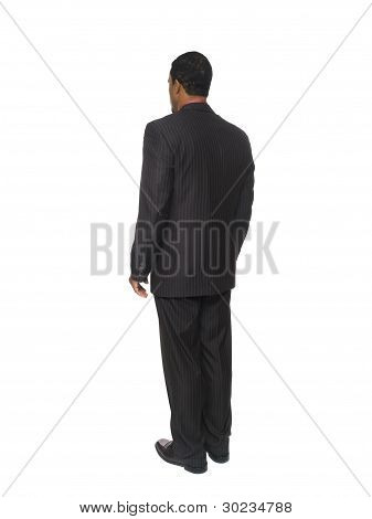 Businessman - Rear View
