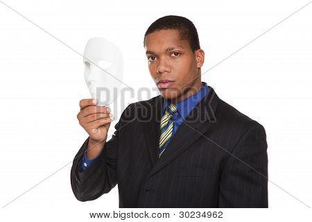 Businessman - Costume Mask