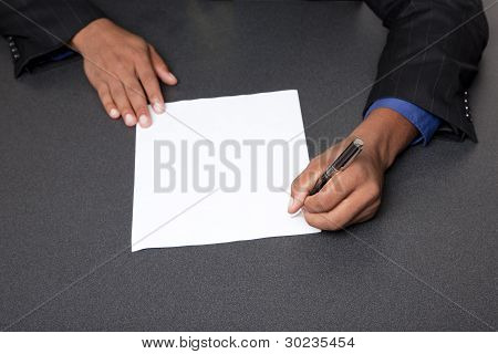 Businessman - Sign Contract