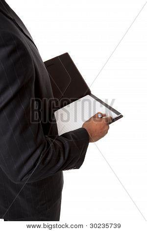 Businessman - Taking Notes
