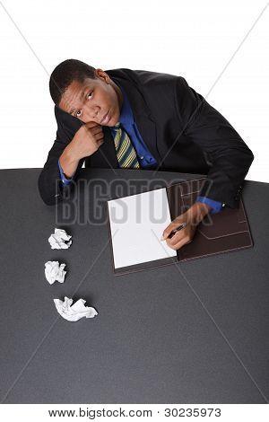 Businessman - Writers Block