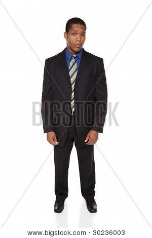 Businessman - Doubtful Expression