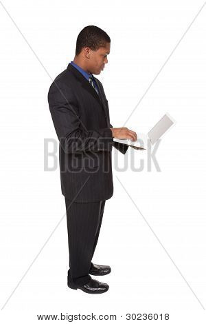 Businessman - Confident Laptop