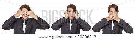 Businessman -  No Evil