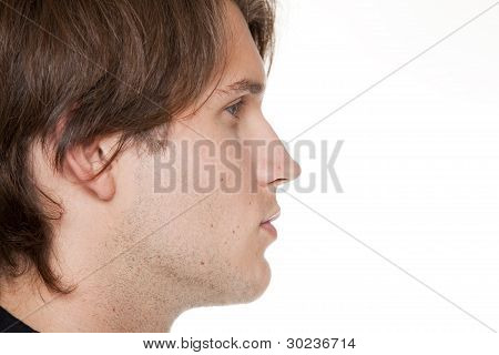 Businessman - Closeup Side View