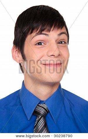 Expressions - Smiling Caucasian Businessman