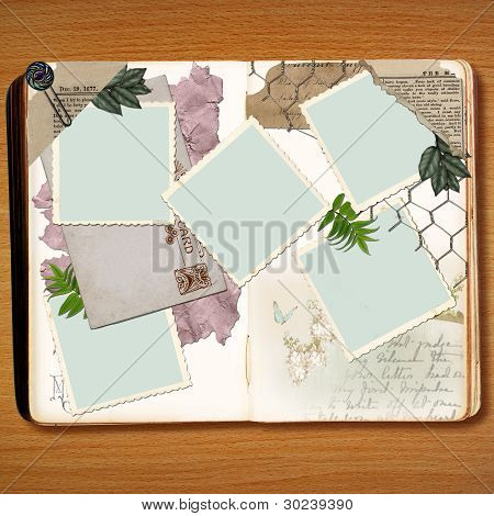 Scrapbook Book Design