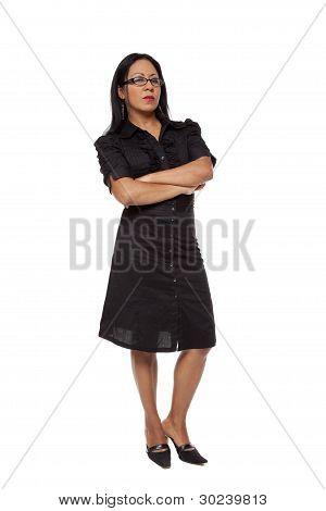 Businesswoman - Disapproving Latina