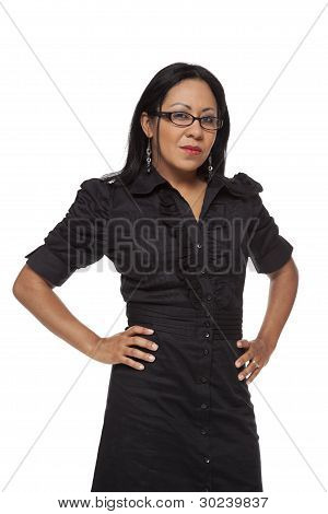 Businesswoman - Disapproving Latina