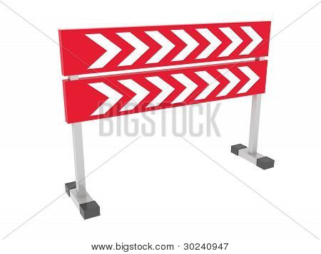 Direction Pointers Isolated on white background