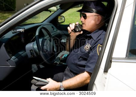 Police - Radioing In