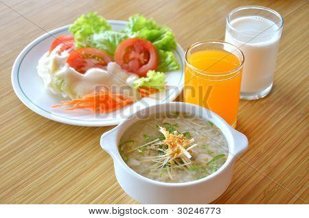 Desayuno saludable comida