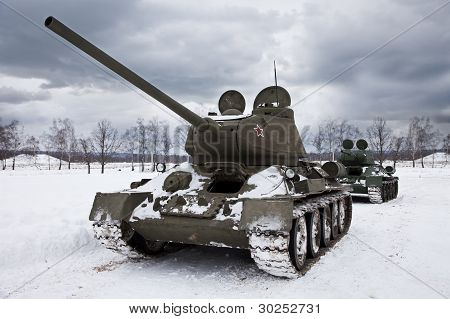 Legendary Russian Tanks T34