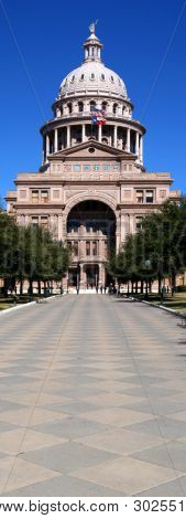 Texas State Capitol Building Entrance