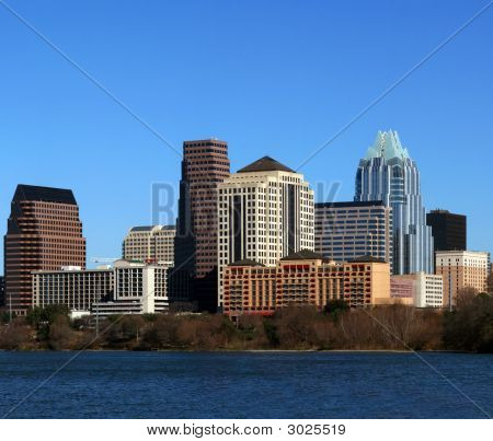 Downtown Austin Texas Cityscape