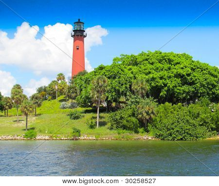 Lighthouse On Water