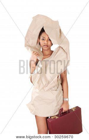 Recession Businesswoman