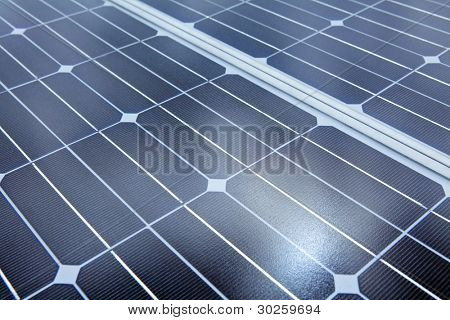 Photovoltaic cells of solar panel