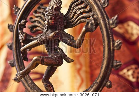 Close-up Of Shiva Statue