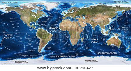 World Ocean Map