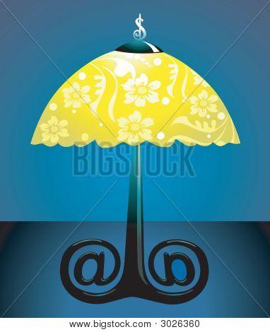 Dollar And Umbrella