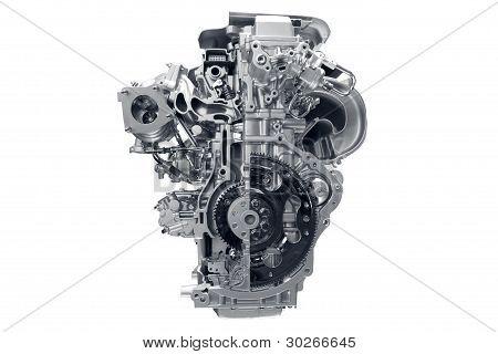 Car engine.